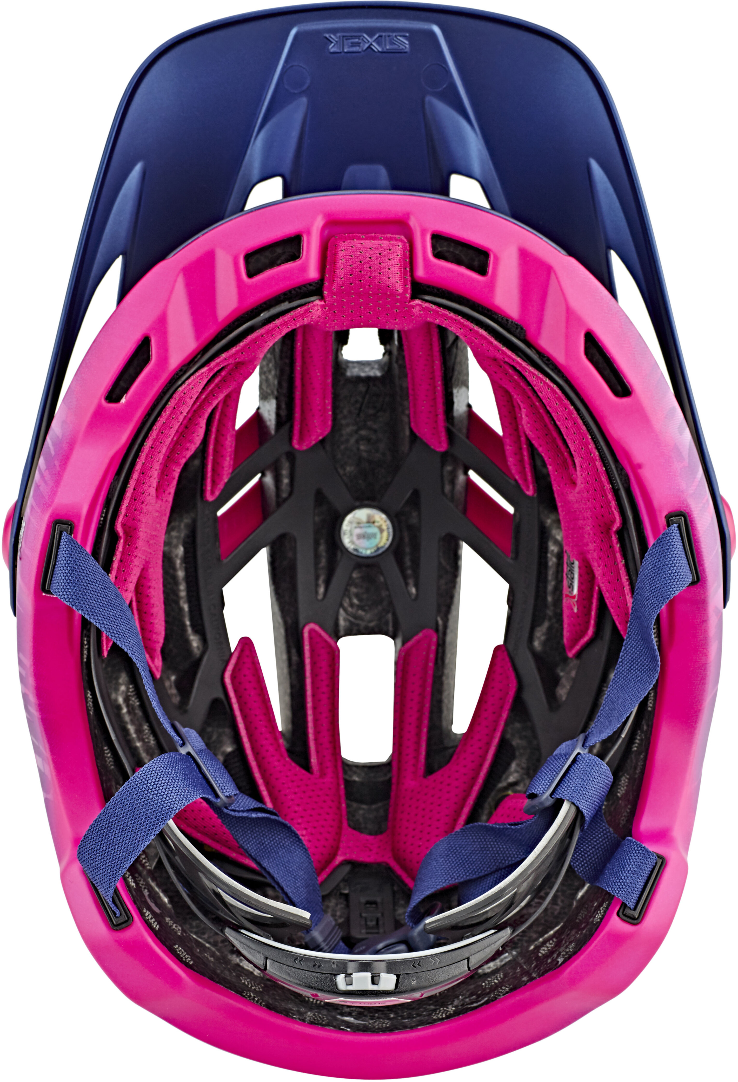 bell sixer mips joyride mtb helmet matte navy cherry online kaufen. Black Bedroom Furniture Sets. Home Design Ideas